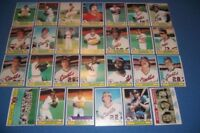 1979 Topps SAN FRANCISCO GIANTS Complete TEAM Set WILLIE McCOVEY Jack CLARK Free