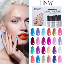 Nail Gel Polish 6 Colors Set HNM UV LED Soak Off Manicure Varnish Lacquer Salon