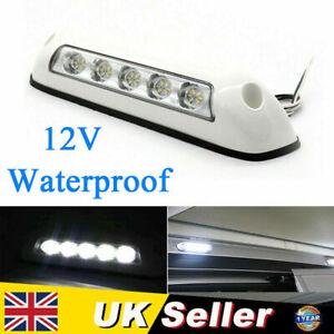 LED Awning Light 12V White Waterproof Long Strip Lamp Caravan Motorhome Boat