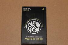 NEO GEO AES MVS ORIGINAL MEMORY CARD 100% ORIGINAL