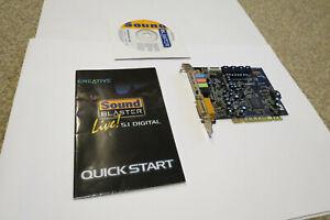 Creative Labs Sound Blaster Live 5.1 PCI Sound Card Model SB0220