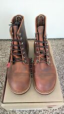 Red Wing Iron Ranger 8085 Copper Rough & Tough Leather Size 7D NIB FACTORY 1ST