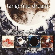 Tangerine Dream - The Pink Years CD New/Sealed  4CD Box Set