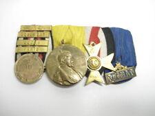 4er Ordensspange mit 4 Gefechtsspangen: Gravelotte- St. Privat, Beaumont, Sedan,