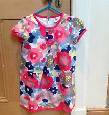 NEW Boden Dress, 3-4y, Summer Floral Cotton, Funky