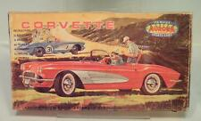 Aurora Sports Cars Bausatz Kit Corvette 1962 OVP #1157