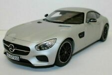 Norev 1/18 2015 Mercedes Benz AMG GT  Silver, Matt Finish.