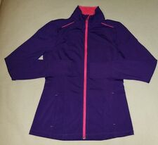 Hind Women Sport/Running/Yoga Full Zip Jacket, Purple/Hot Pink, Size Small