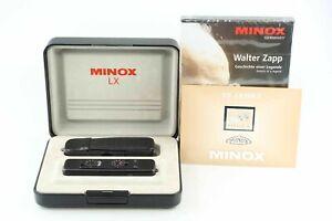 Minox LX 3,5 15 mm black LOT mit 50 Jahre Minox Marke und DVD 88835