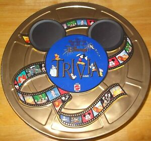 The Wonderful World Of Disney Trivia Game in Tin 1997 100% Complete & MINT!