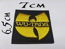 Quality Iron/Sew on Wu Tang Clan biker patch concert logo Method Man Red