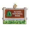 Old World Christmas ACADIA NATIONAL PARK (36190)X Glass Ornament w/OWC Box