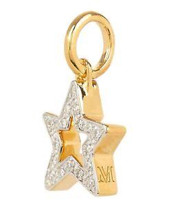 Monica Vinader Star Diamond Pendant Charm -  18ct Gold version RRP £150