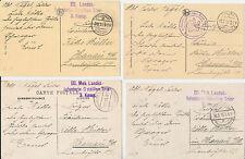 Erster Weltkrieg (1914-18) Ansichtskarten aus Europa für Architektur/Bauwerk und Adel & Monarchie