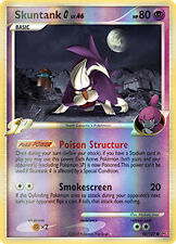 Skuntank G Reverse Holo Common Pokemon Card Pt1 Platinum 94/127