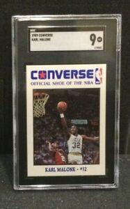 1989 Converse KARL MALONE ~ SGC 96 / 9 MINT!