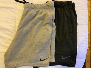 (Lot Of 2) Nike Fleece Training Shorts