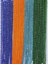 """28""""-50"""" Bi-Color Tie On African Waist Beads Belly Chain Jewelry Weigh Controller"""