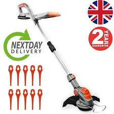 More details for 20v electric battery cordless grass trimmer strimmer  garden edger cutter