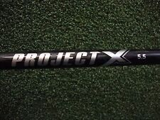 Project X Black Firm Graphite Driver Shaft & Adapter Titleist 910/913/915/917