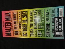 CD MALTED MILK / ON STAGE TONIGHT /