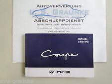 Betriebsanleitung Handbuch Hyundai FX Coupe FO-961023