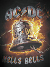 2011 Ac Dc Repro Hells Bells (Large) T-Shirt Angus Young