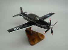 Harvard II CT-156 Raytheon T-6 Airplane Handcrafted Wood Model Regular New