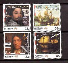 AUSTRALIA 1987 Tasman & Dampier set MUH