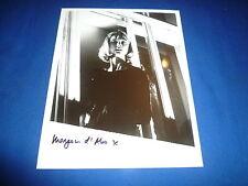 Mryam D 'ABO SIGNED AUTOGRAFO 20x25 cm James Bond The Living Daylights 007