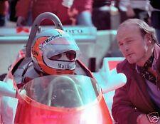 JOHN WATSON COLOR CAR RACE PHOTO RACING WG GRAND PRIX 1980 MARLBORO MCLAREN FORD