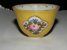 ANTIQUE ENGLISH MINIATURE HAND PAINTED CUP BARR PINXTON
