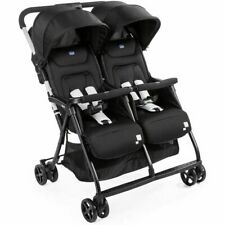 POUSETTE DOUBLE - CHICCO AHLALA TWIN - BLACK NIGHT