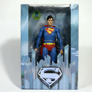 """Reel Toys Superman The Movie 7"""" Action Figure DC Collectibles NIB"""
