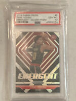 2018 Panini Prizm Emergent Silver #5 Trae Young Hawks RC Rookie Card PSA 10