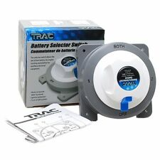 Trac Boat Battery Selector Switch T10151| White 4 Position