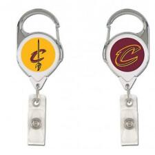 Cleveland Cavaliers Retractable Metal Badge Holder [NEW] NBA Key Chain ID Ring