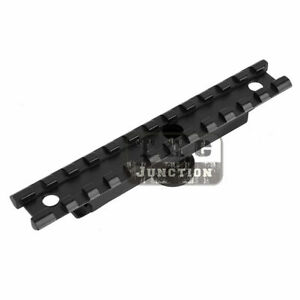 Tactical Scope Mount 5.56 .223 Carry Handle Adapter w/20mm Picatinny Weaver Rail