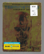 TERMINATOR 2 JUDGMENT DAY Limited Steelbook Blu Ray Brand New SEALED Must See