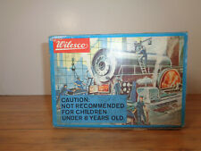 WILESCO # D-4 STEAM ENGINE INSTRUCTIONS, PARTS BAG & BOX
