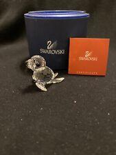 New ListingSwarovski Crystal Figurine Baby Seal Sea Lion Silver Whiskers Brand New