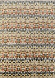 Wool & Silk Art And Craft Hand-Knotted Area Rug Home Decor Oriental Carpet 9x12