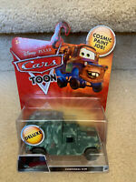 Disney Pixar Cars Toon Deluxe Corporal Kim Diecast Car New In Package
