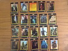KFC trade cards: Star Wars Episode I complete full set Kentucky Fried Chicken