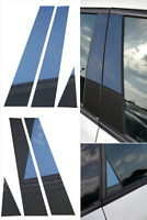 Carbon Fiber Door B Pillar Cover Set 3D Glossy for Alfa Romeo 159 2005-2011