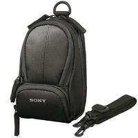 Sony Black LCS-CSU Soft Shoulder Carrying Case Bag for H T W S Series Camera NEW