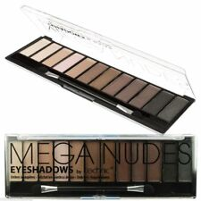 Technic Eyeshadow Pallette, Mega Nudes, 12 Shades Browns + Creams + Applicator