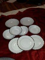 Vintage Harmony House Silver Sonata Set Dishes