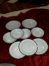 Vintage Harmony House Silver Sonata Set Dishes