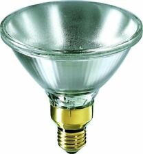 Philips Reflector 230V 75W 10° E27 PAR38 Lámpara de Vidrio Prensado Halógeno